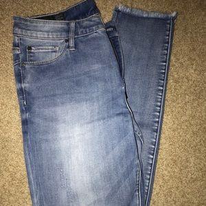 Orbital blue straight leg jeans